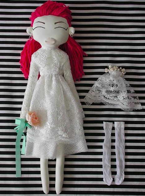 Puppenkurs Kunst & Fashion Puppen